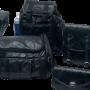 7pc Genuine Buffalo Leather Motorcycle Luggage Set 2
