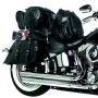 7pc Genuine Buffalo Leather Motorcycle Luggage Set 3