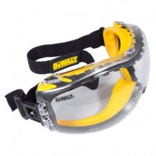 Dewalt DPG82-11C Concealer Clear Anti-Fog Dual Mold Safety Goggle