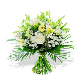 Lily Rose Funeral Bouquet