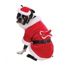 Dog Costume Santa Paws