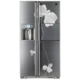 LG Refrigerator - Floral collection T676