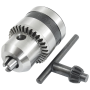 Key Type 1.5-10mm Capacity M12x1.25 Tapered Bore Drill Chuck