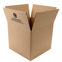 Duck Brand Kraft Corrugate Shipping Boxes