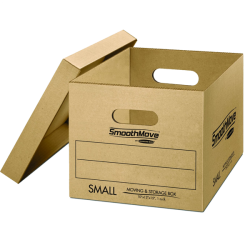 SmoothMove Moving Boxes with No-Tape Assembly