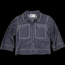 Toddler Boy's Elegant Blue Jacket