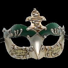 RedSkyTrader Mens Crown Venetian Mask