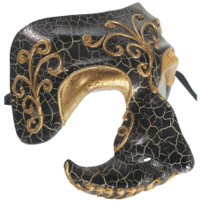 RedSkyTrader Mens Skull Venetian Mask
