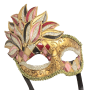 RedSkyTrader Mens Vintage Style Mardi Gras Mask