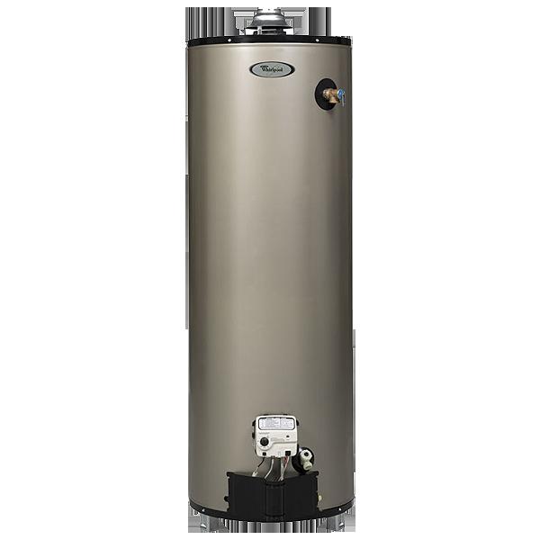 Whirlpool 6th Sense 50-Gallon 12-Year Tall Gas Water Heater (Natural Gas)