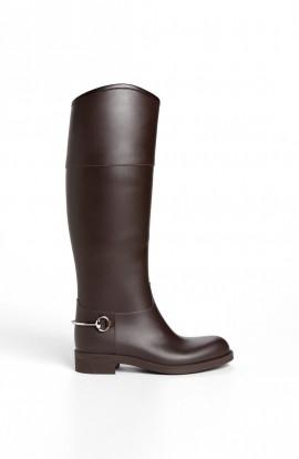 Gucci Rubber Waterproof Rain Boot