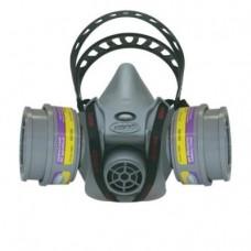 AO Safety 95090 Quicklatch PRO Dual Cartridge Respirator