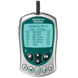 One Touch UltraSmart Blood Glucose Monitor