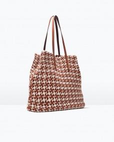 Women fabric shopper