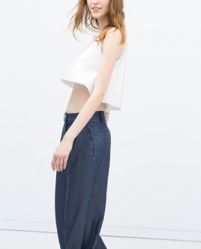 Full top with halter neck