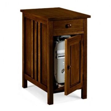 Mission Cpu Cabinet - prnter Stn 1-door Chestnut