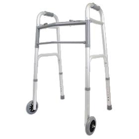 Walker with 5-Inch Wheels
