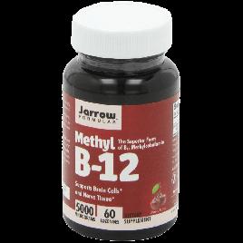 Jarrow Formulas Methylcobalamin (Methyl B12) 5000mcg 60 Lozenges