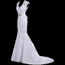 Gorgeous Bridal 2015 Elegant Trumpet Evening Bridal Gown