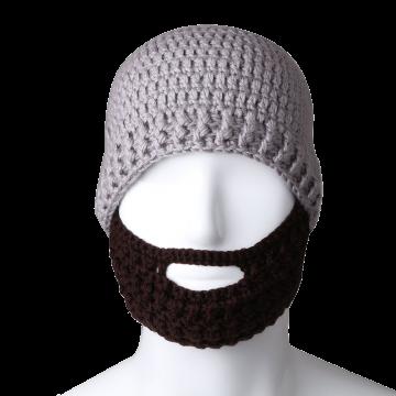 Free Fisher Unisex Knit Beanie Stubble Beard
