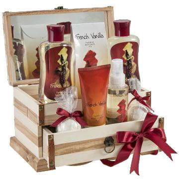 French Vanilla Bath Gift Set