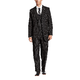 Stacy Adams Men's Big Tall Mars Vested 3 Piece Suit