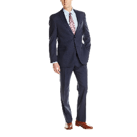 Tommy Hilfiger Men's Nathan Two Button Trim Fit Suit