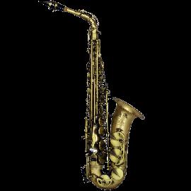 LA Sax Big Lip Series -X- Alto Saxophone - Vintage Matte