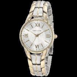 Anne Klein Women's 10-9815SVTT Two-Tone Bracelet Watch