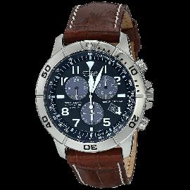 Citizen Men's BL5250-02L Titanium Eco-Drive Watch with Leather Band