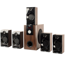 Frisby FS 5060BT 5 1 Surround Sound Home Theater Speakers System