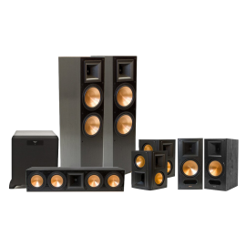 Klipsch RF 7 II Reference Series 7 1 Home Theater System with SW 450 Subwoofer Black