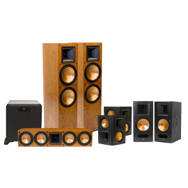 Klipsch RF 7 II Reference Series 7 1 Home Theater System with SW 450 Subwoofer Cherry
