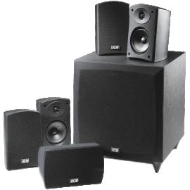 MTX DCM CINEMA1 5 1 Channel Home Theater Speaker System