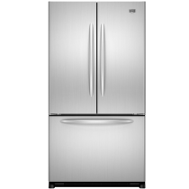 Maytag MFF2558VEB 24.8 Cu. Ft. Black French Door Refrigerator