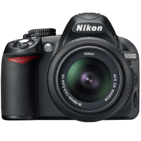 Nikon D3100 14.2MP Digital SLR Camera with 18-55mm