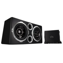 VM Audio Dual 12 Vented Port 2000 Watt Sub