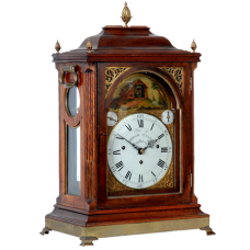 Musical Bracket Clock with Animation