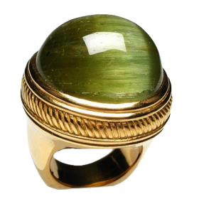 Tourmaline Cocktail Ring Solid