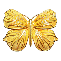 Ilias Lalaounis Butterfly Brooch