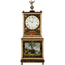 Massachusetts shelf clock