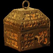 Spanish iron box