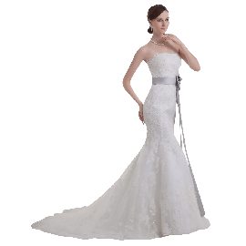 100% Guarantee Lace Wedding Dresses Any Size-color