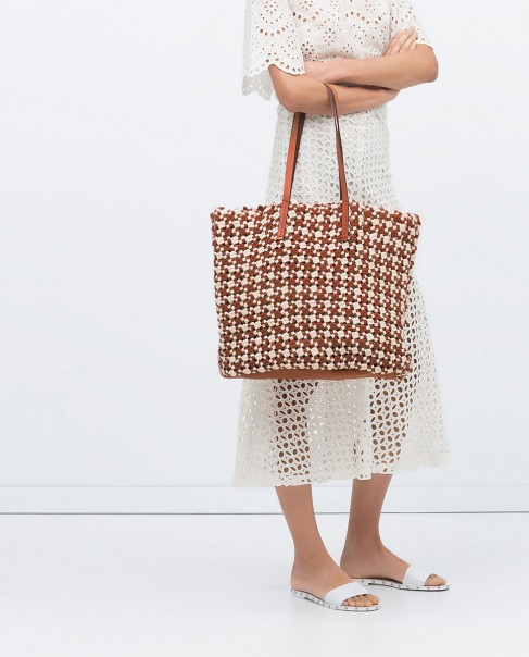 Women fabric shopper