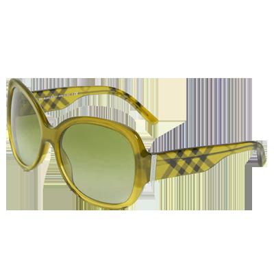 Burberry Oversized Round Sunglasses