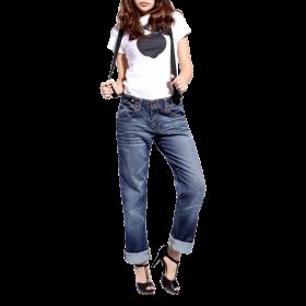 Fashion Womens Boyfriend Jeans