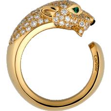 Panthère de Cartier ring