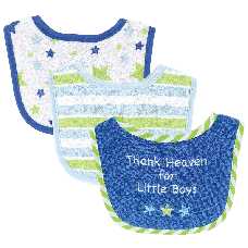 Luvable-Friends-I-Love-Mommy-and-Daddy-Baby-Bibs,-Blue-Daddy,-3-Count