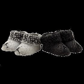 Nike-Jordan-Newborn-Baby-Booties-(0-6M)-Silver,-0-6-Month