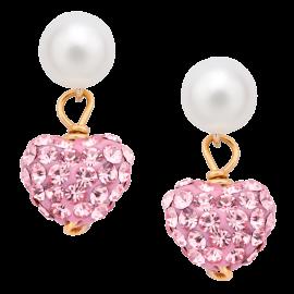 Star-&-Bow-Cubic-Zirconia-Earrings